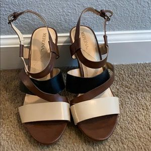 MERONA MULTIPLE STRAPPED SANDALS